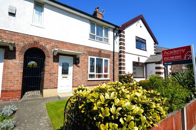 Thumbnail Terraced house to rent in Lockett Road, Widnes