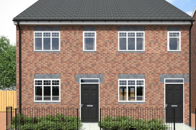 Thumbnail Semi-detached house for sale in Peel Street, Tipton