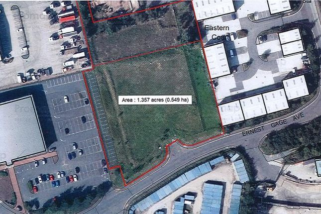 Thumbnail Land to let in Site At Ernest Gage Avenue, Longwater, Norwich, Norfolk