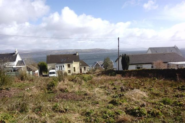 Thumbnail Land for sale in Eccles Road, Hunters Quay, Dunoon