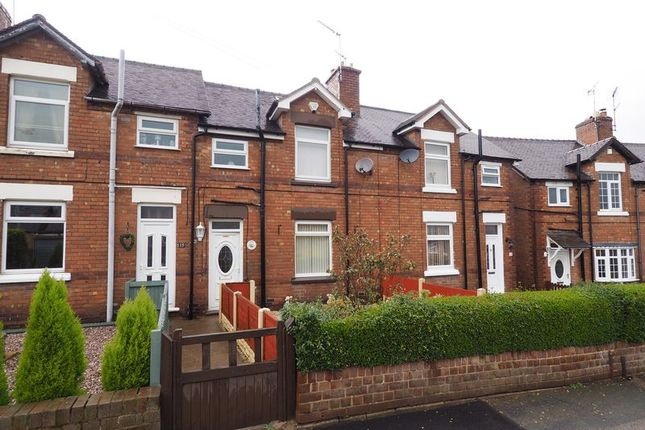 Thumbnail Terraced house for sale in Park View Terrace, Rugeley