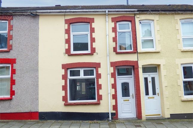 Thumbnail Terraced house for sale in Elm Street, Aberbargoed, Bargoed, Caerphilly