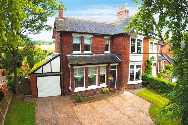 Thumbnail Semi-detached house for sale in Leek Road, Stockton Brook, Stoke-On-Trent