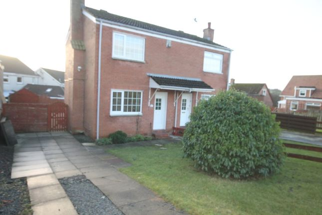 Thumbnail Semi-detached house to rent in Drumcoyle Drive, Coylton, Ayr