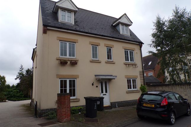 Thumbnail Detached house to rent in Tortworth Road, Swindon