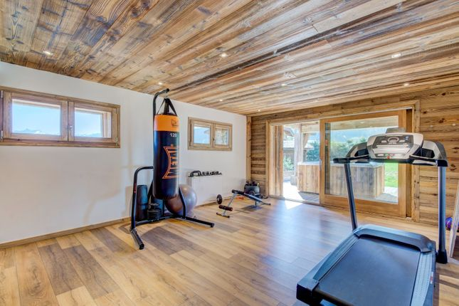 The Fitness Room of Megeve, Rhones Alps, France