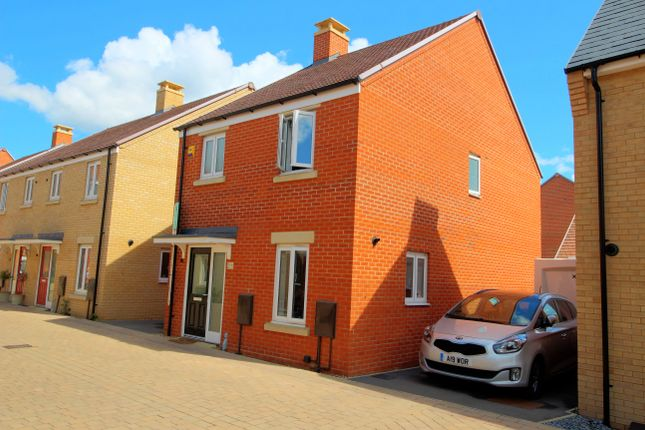 Thumbnail Detached house for sale in Gilbert Avenue, Biggleswade