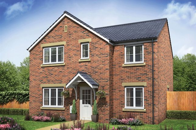 "Thumbnail Detached house for sale in ""The Corfe"" at Snowberry Lane, Wellesbourne, Warwick"