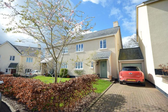 Thumbnail Semi-detached house for sale in Caversham Close, Christow, Exeter