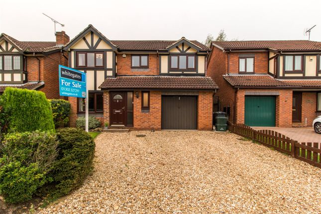 Thumbnail Detached house for sale in Birch Close, Sprotbrough, Doncaster