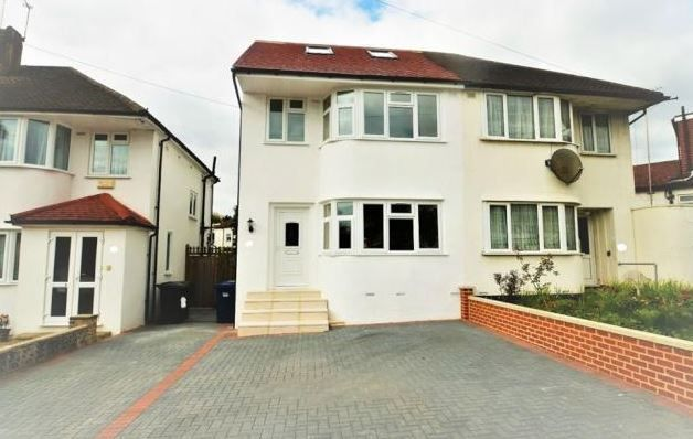 Thumbnail Semi-detached house to rent in Bittacy Rise, London