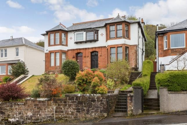 Thumbnail Semi-detached house for sale in Lyle Road, Greenock, Inverclyde