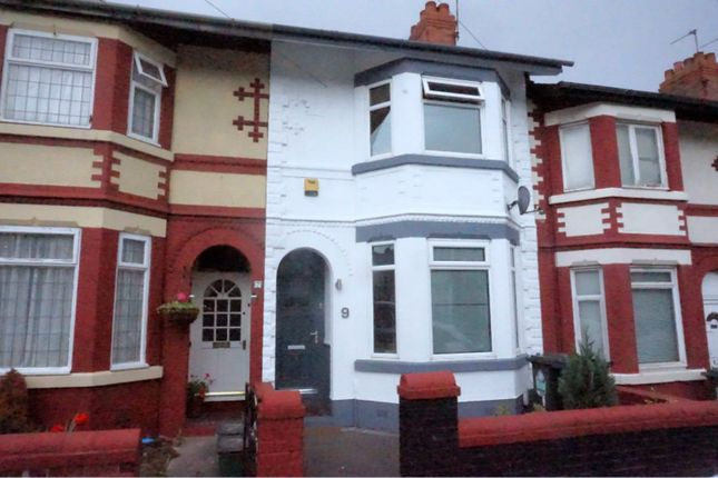 Thumbnail Terraced house to rent in Exeter Road, Ellesmere Port