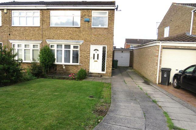 Thumbnail Semi-detached house for sale in Felixstowe Close, Hartlepool