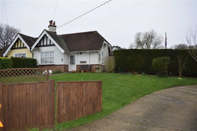 Thumbnail Semi-detached bungalow for sale in The Stream, Catsfield, East Sussex