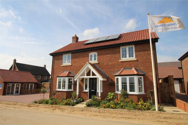 Thumbnail Detached house for sale in Woodlands, Townhouse Road, Old Costessey, Norwich