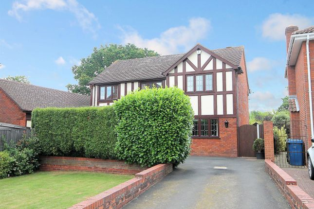 Thumbnail Detached house for sale in Deepdale, Tamworth