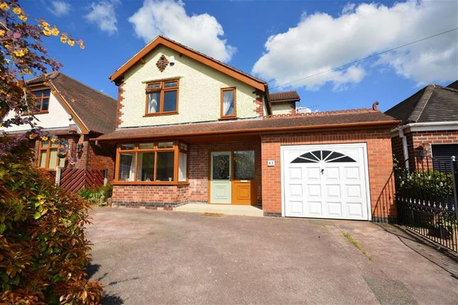 Thumbnail Detached house for sale in Loscoe-Denby Lane, Loscoe, Heanor
