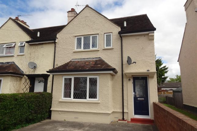 2 bed semi-detached house to rent in Haughmond Avenue, Shrewsbury SY1