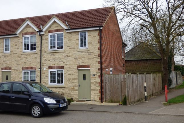 Thumbnail End terrace house to rent in Church Way, Stratton St. Margaret, Swindon