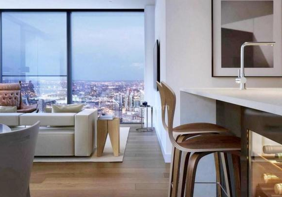 Thumbnail Flat for sale in Valiant Tower, South Quay Plaza, Canary Wharf, London
