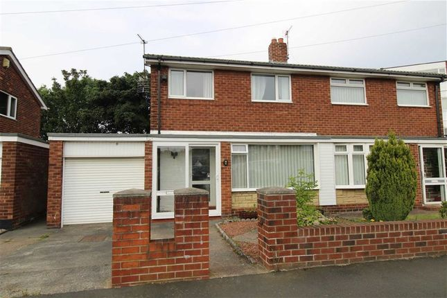 Thumbnail Semi-detached house for sale in Feetham Avenue, Forest Hall, Newcastle Upon Tyne
