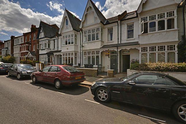 External of Ennismore Avenue, Chiswick, London W4