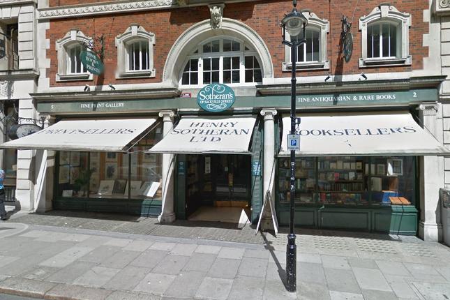 Thumbnail Retail premises to let in Sackville Street, London