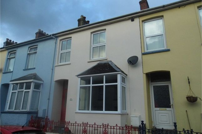 Thumbnail Terraced house to rent in Plas Y Gamil Road, Goodwick, Pembrokeshire