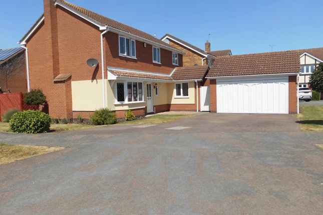 Thumbnail Detached house for sale in Swallow Drive, Syston, Leicester