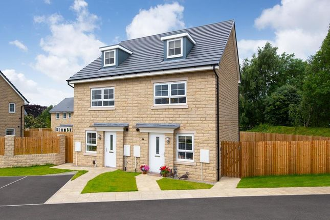 "3 bed semi-detached house for sale in ""Kingsville"" at Belton Road, Silsden, Keighley BD20"