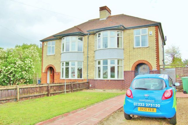 Thumbnail Semi-detached house to rent in Newmarket Road, Cambridge