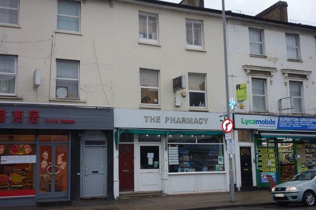 Thumbnail Maisonette to rent in Surbiton Road, Kingston