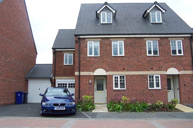 Thumbnail Semi-detached house to rent in Caroline Court, Burton On Trent, Staffordshire