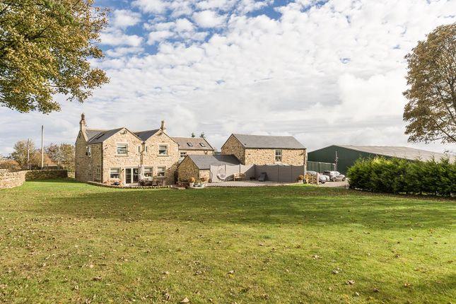 Thumbnail Farmhouse for sale in West Farm, Cornsay, County Durham