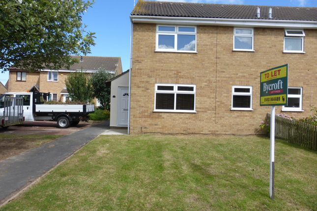 Thumbnail End terrace house to rent in Rockall Way, Caister-On-Sea, Great Yarmouth