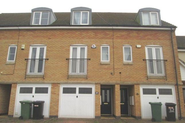 3 bedroom terraced house for sale in Beaumont Way, Hampton Hargate, Peterborough