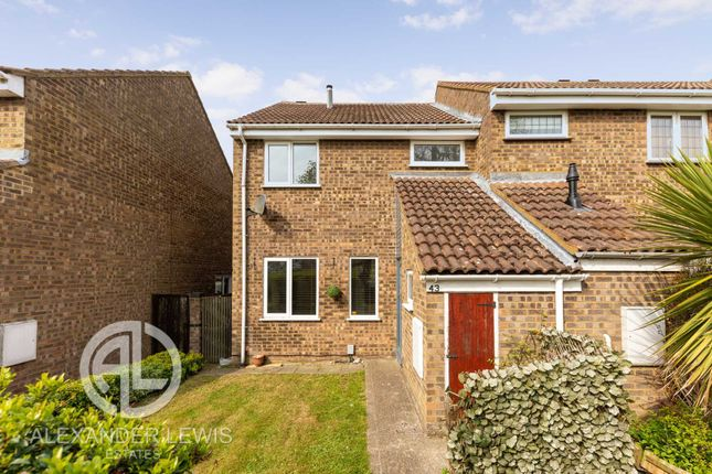 Thumbnail End terrace house for sale in Chase Hill Road, Arlesey
