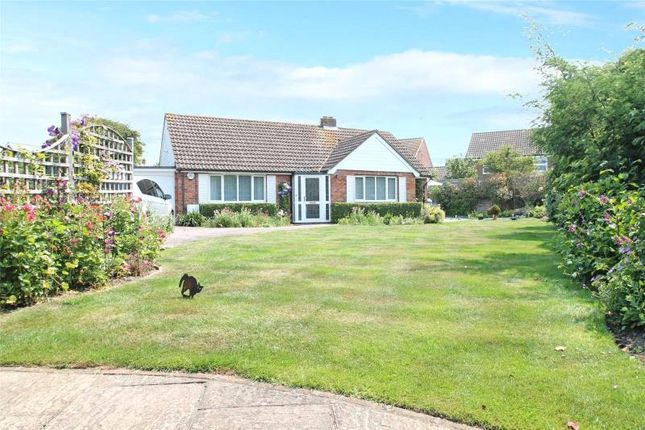 Thumbnail Detached bungalow for sale in Barn Close, Wick, Littlehampton