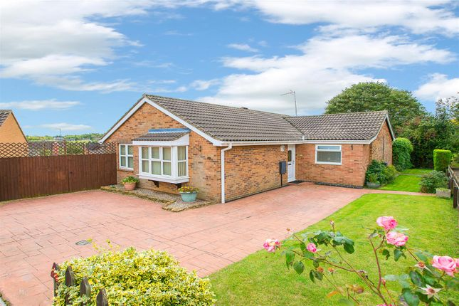 Thumbnail Detached bungalow for sale in Gilbey Close, Redhill Grange, Wellingborough