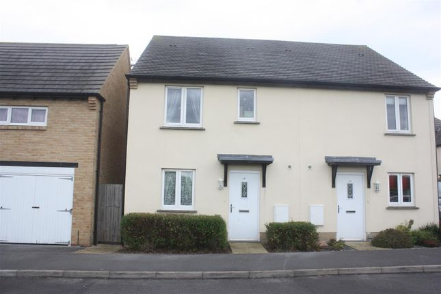 Thumbnail Semi-detached house to rent in The Poppies, Wool, Wareham