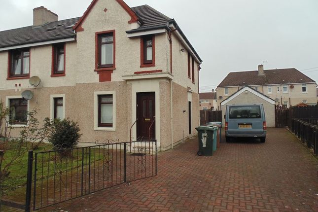 Thumbnail Flat for sale in Silverburn Crescent, Newarthill, Motherwell