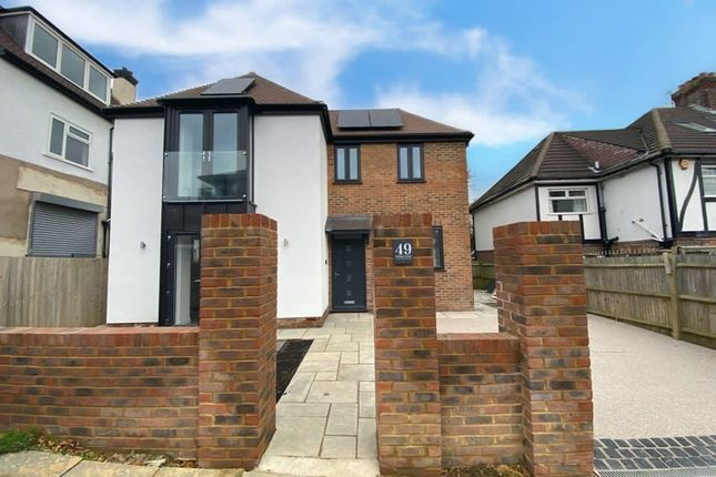 Thumbnail Detached house for sale in Coleman Avenue, Hove