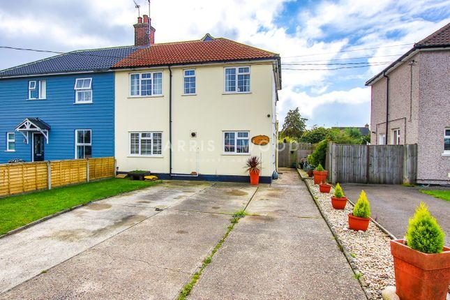 Thumbnail Semi-detached house for sale in Fingringhoe Road, Langenhoe, Colchester