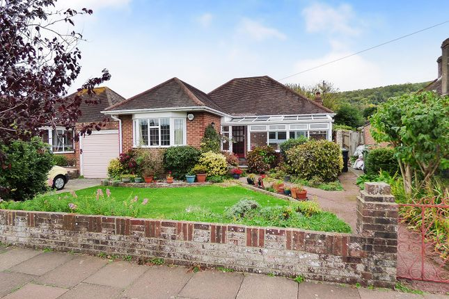 Thumbnail Detached bungalow for sale in Hollingbury Gardens, Findon Valley, Worthing