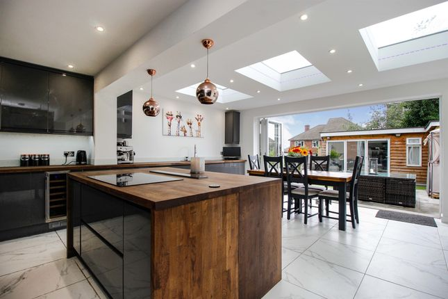 Thumbnail Semi-detached house for sale in Kingshill Avenue, Collier Row, Romford
