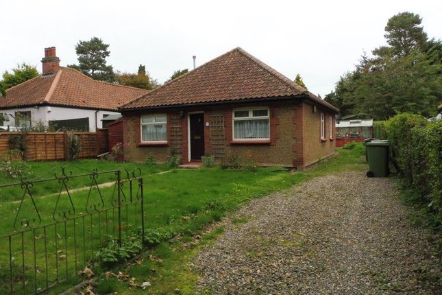 Thumbnail Bungalow to rent in Burgh Road, Aylsham, Norwich