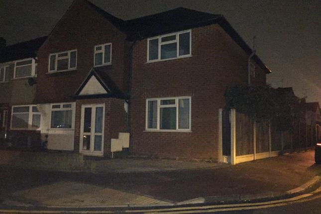 Thumbnail Semi-detached house to rent in Naseby Rd, Dagenham