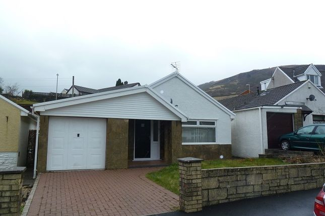 Thumbnail Detached bungalow for sale in Mill View, Garth, Mid Glamorgan.