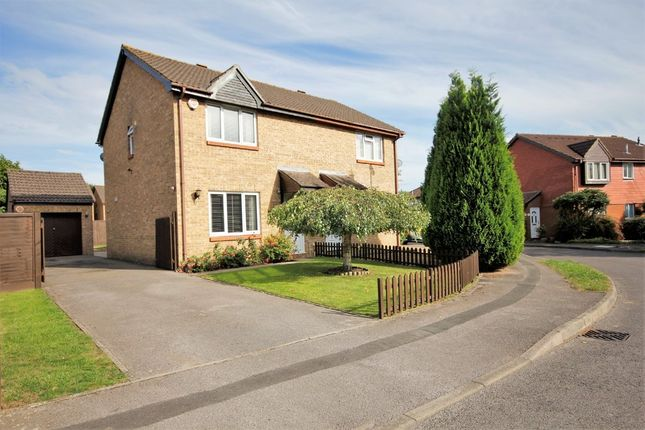 Thumbnail Semi-detached house for sale in Celandine Avenue, Locks Heath, Southampton